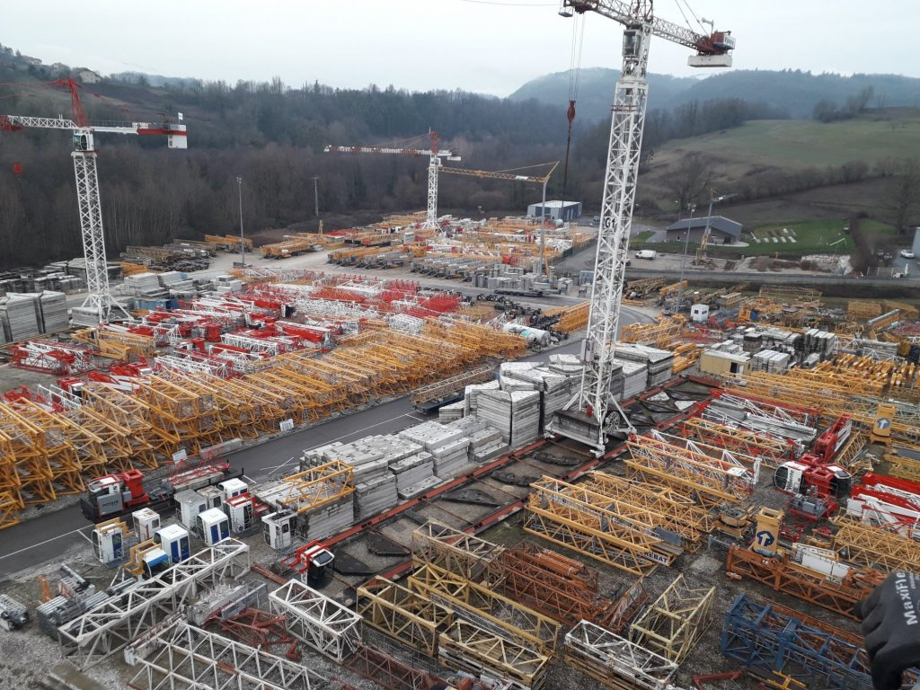 reconditionnement de grue ain